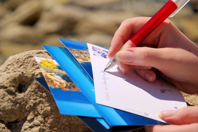 Cosas que debes hacer cuando viajas solo - carta