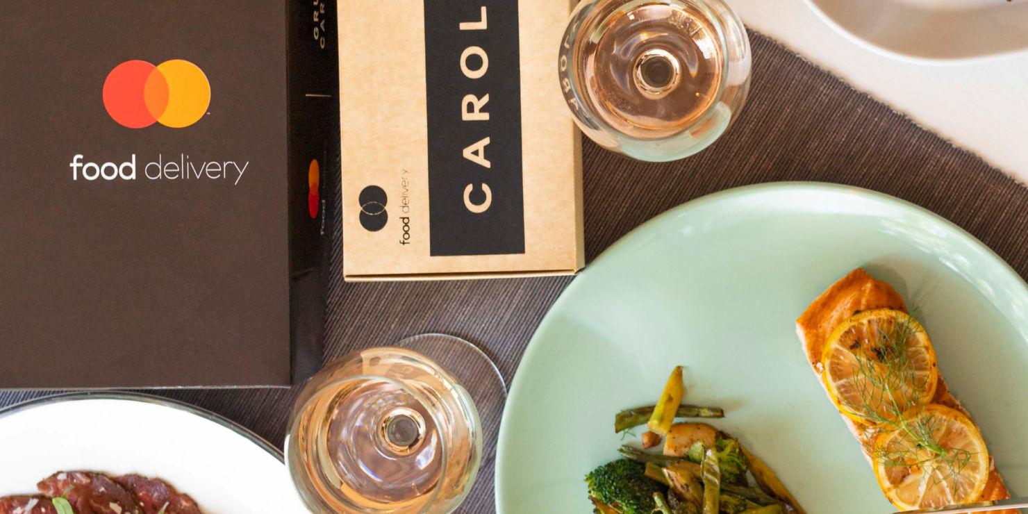 Vive las mejores experiencias con Food Delivery by Mastercard y Grupo Carolo