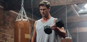 Rutina de Chris Hemsworth  para unos brazos de acero