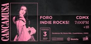 Cancamusa en Foro Indie Rocks