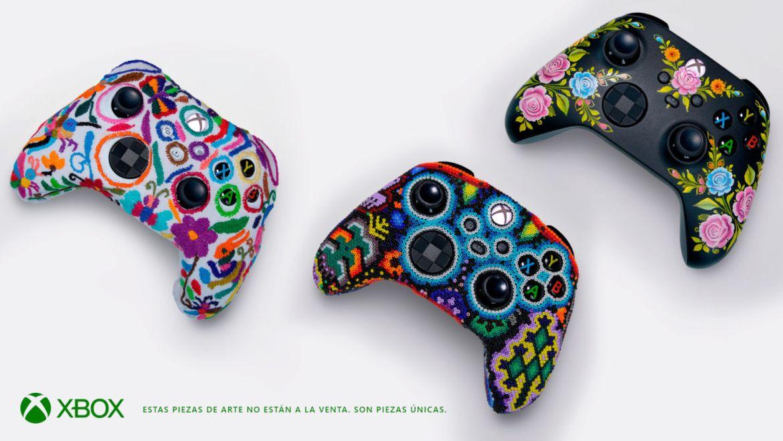 Xbox rinde homenaje a las comunidades indígenas con tres increíbles controles - controles-tenango-huichol-y-olinala
