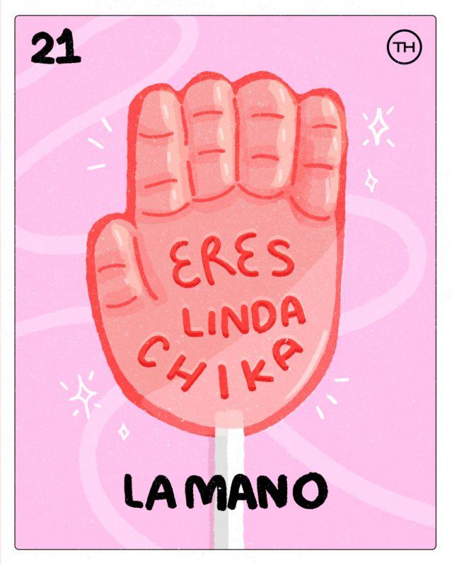 Conoce la Lotería Colaborativa de The Happening con talento mexicano - la-mano-2