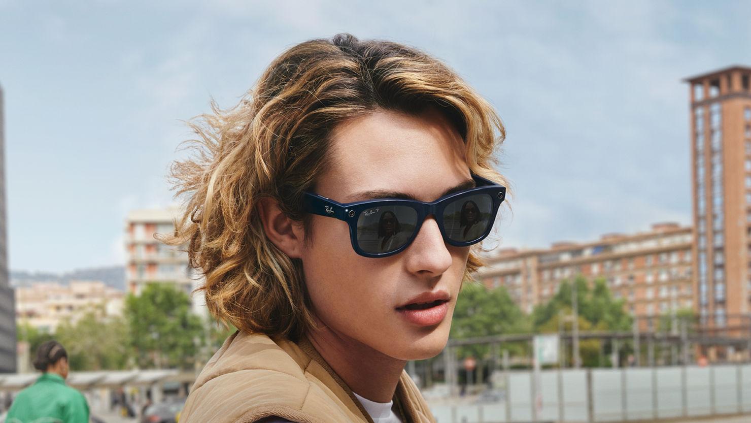 Conoce los lentes inteligentes de Ray-Ban y Facebook