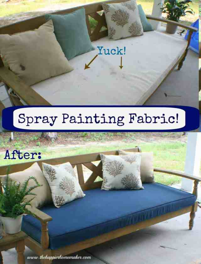 cushion before after