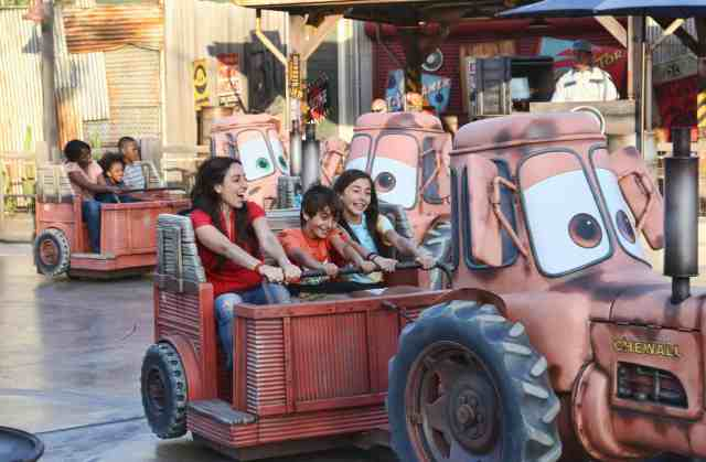 What to ride first in Cars Land. Paul Hiffmeyer/Disneyland Resort