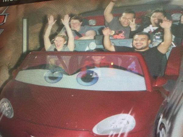 Radiator Springs Racers in Cars Land.