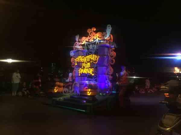 Halloween Parade Disneyland