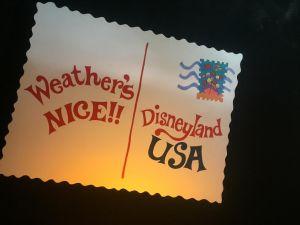 El Nino Rain Hits Disneyland