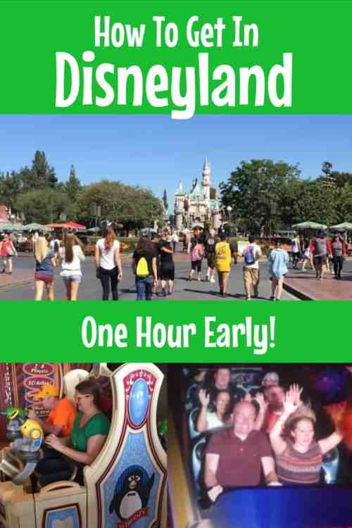 How to get in Disneyland one hour early, all the details and secrets here.