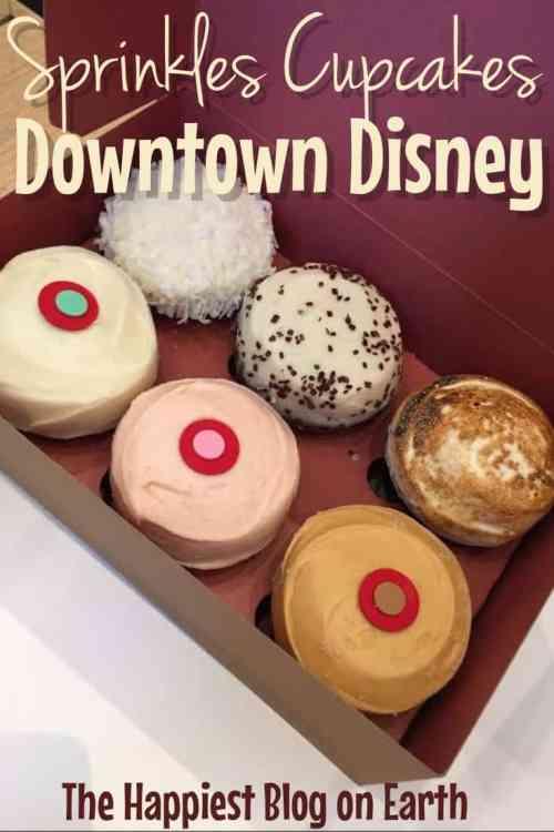 Disneyland | Disneyland Tips | Disneyland Travel | Sprinkle Cupcakes Disneyland | Sprinkles Cupcakes Downtown Disney