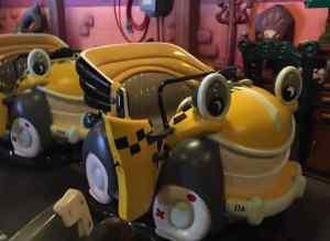 Roger Rabbit's Car Toon Spin seats
