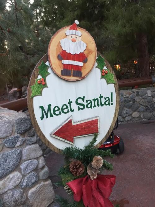 Meet Santa at California Adventure