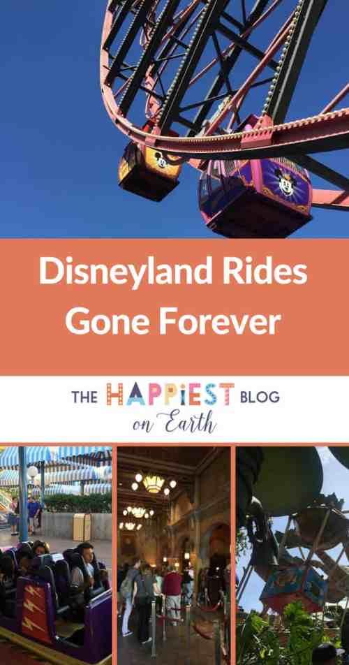 Disneyland Rides are Gone Forever