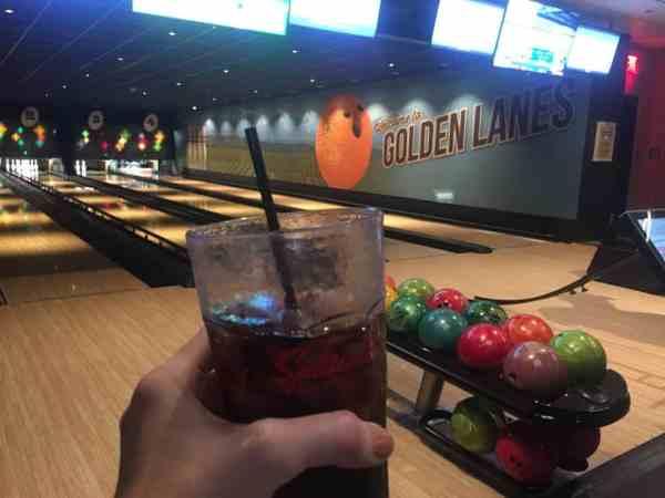 Disneyland bowling alley