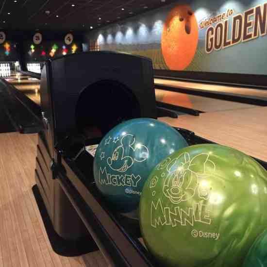 Disney bowling ball