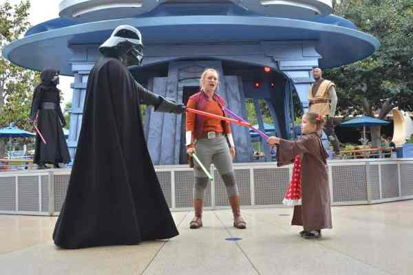 Disneyland PhotoPass Spots Jedi Training
