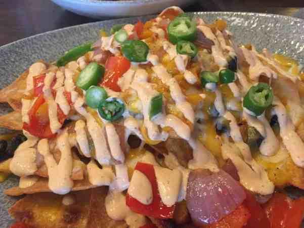 Lamplight lounge nachos