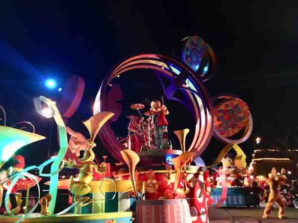 Mickey Mouse Disneyland parade
