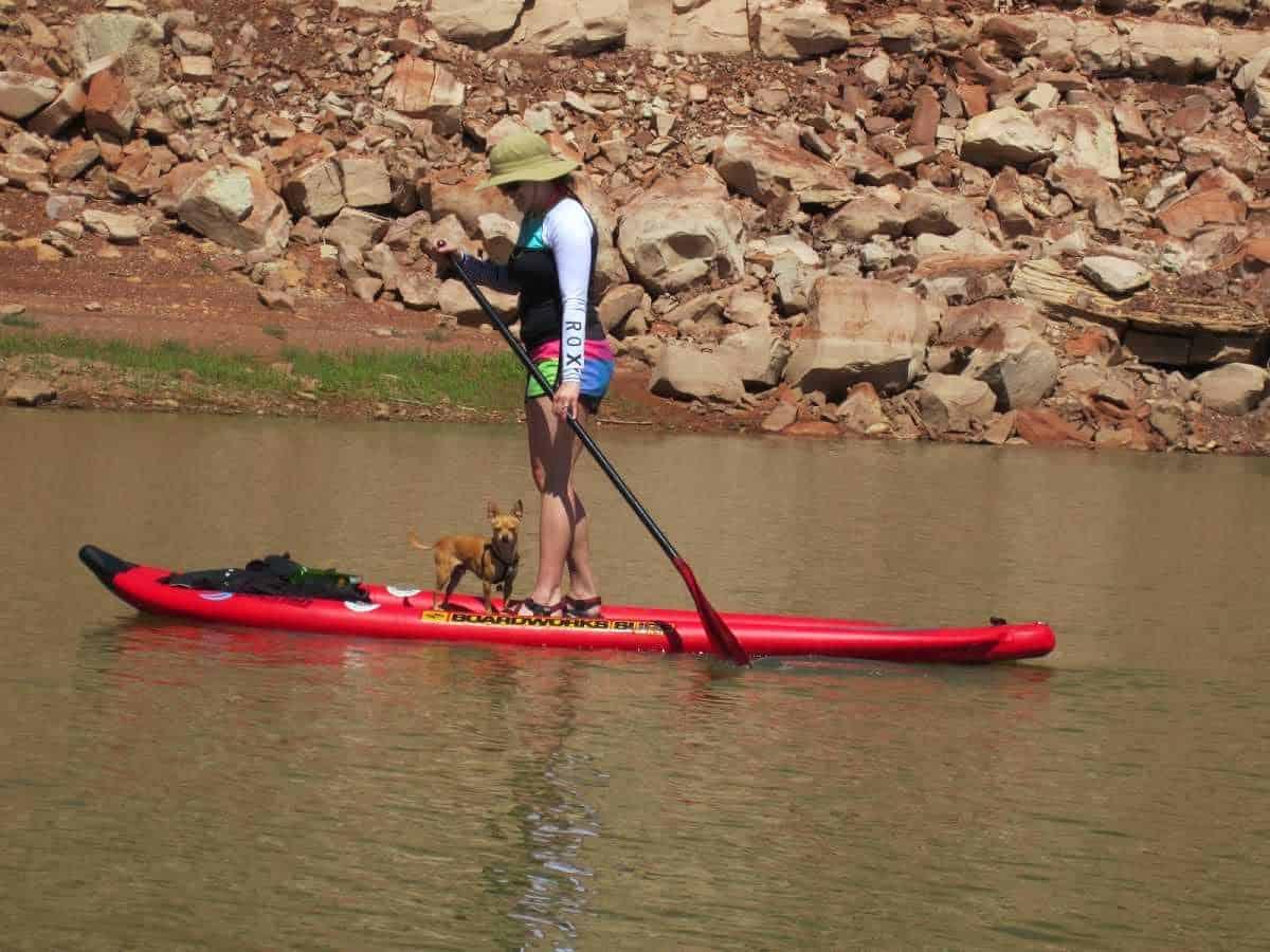 stand-up-paddle-SUP-farley-canyon-lake-powell