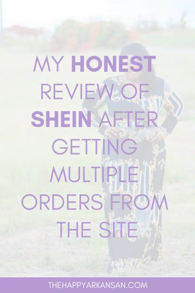 My Honest Review Of SHEIN After Getting Multiple Orders From The