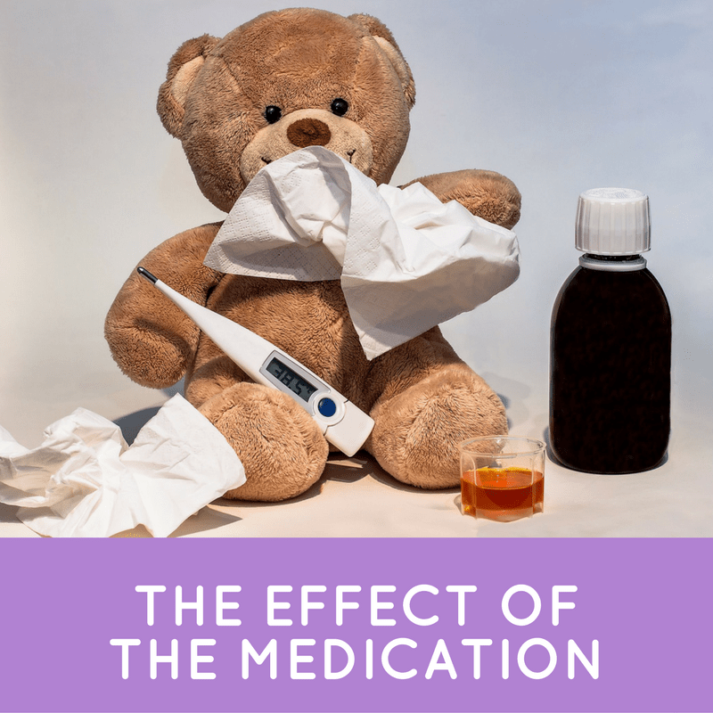 the effect of the medication