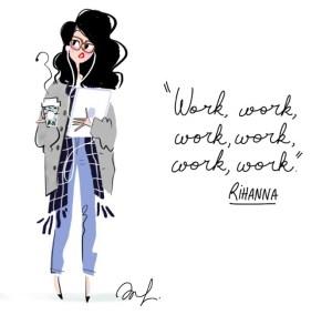 rihanna, work work work, work