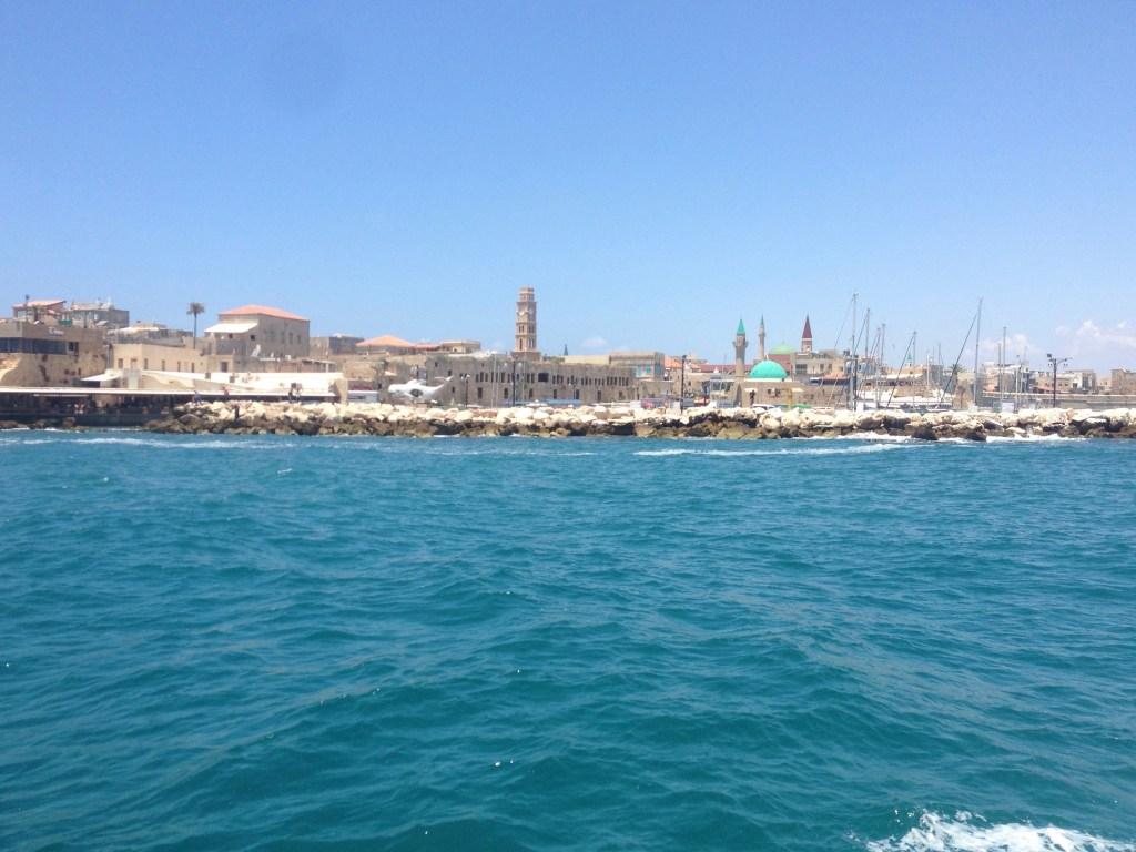 Boat trip in Haifa
