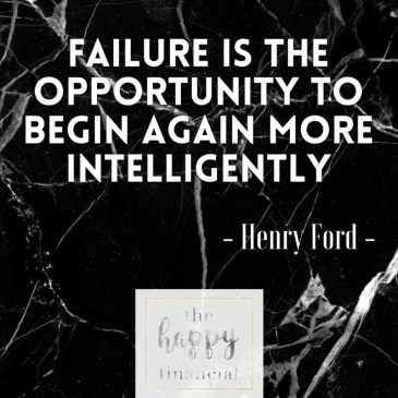 Failure the happy financial