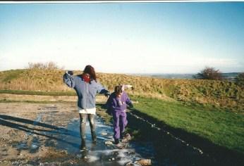 Sliding on the Ice Circa 1995