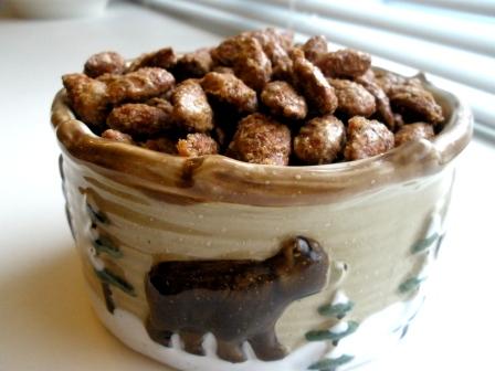 roasted almonds Roasted Cinnamon Nuts