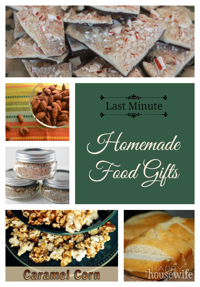 Last Minute Homemade Food Gifts For Christmas The Happy
