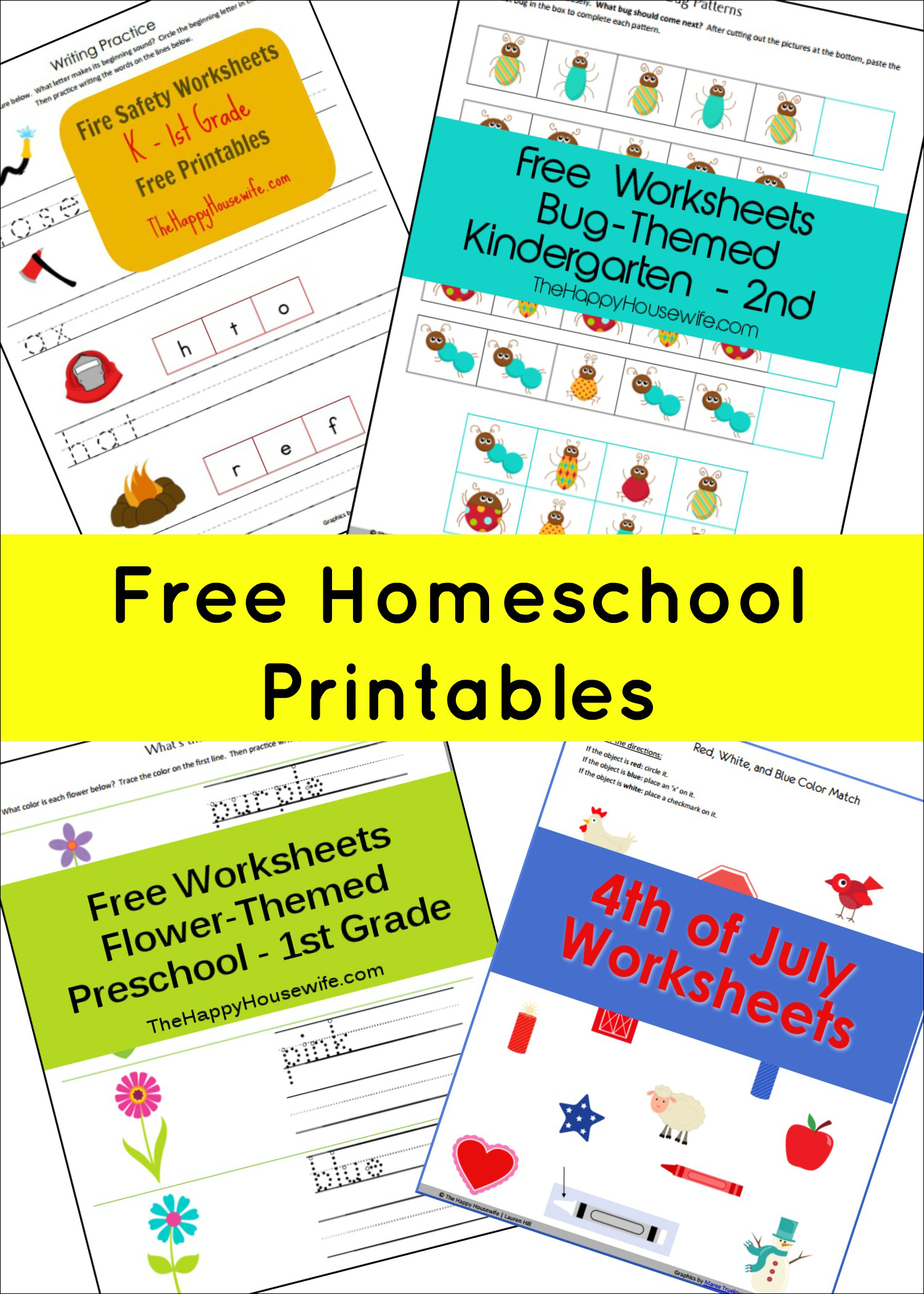 Homeschool Free Printables