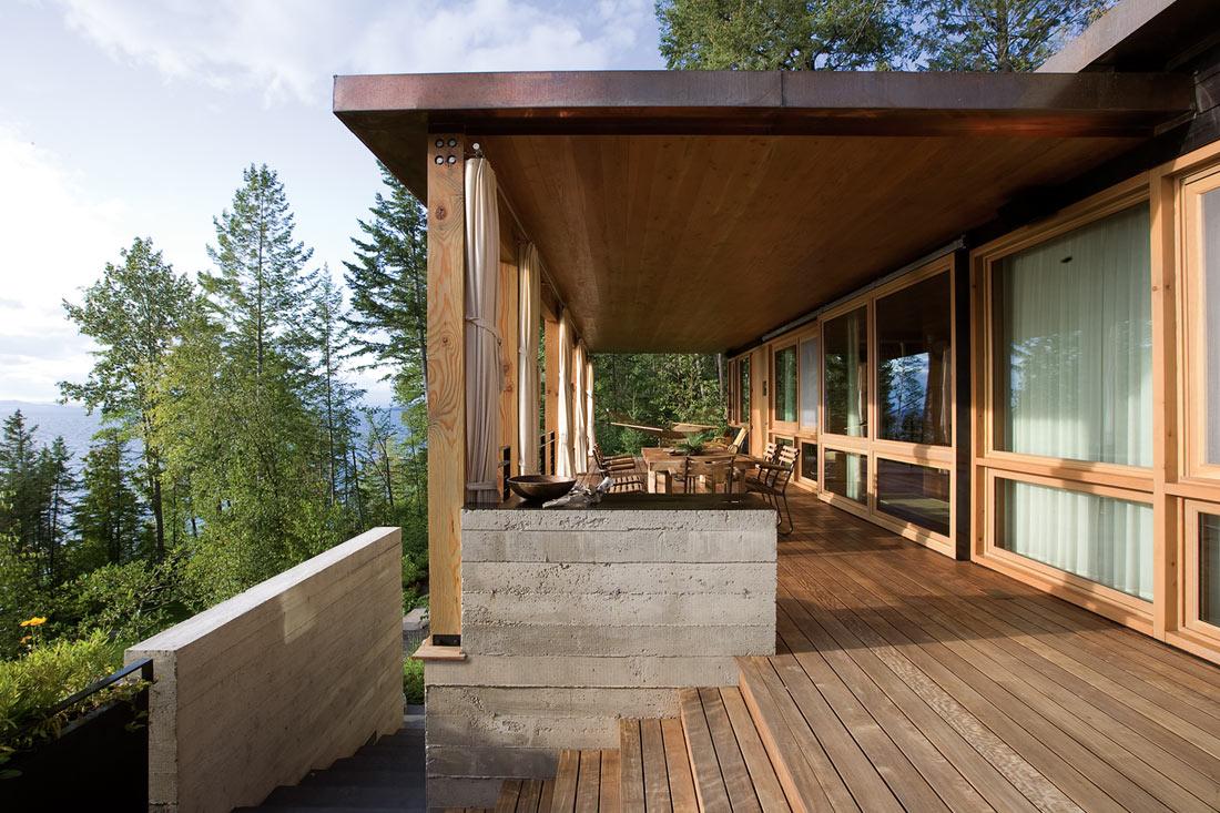10 Inspiring Wooden Decks - The Happy Housie on Deck Inspiration  id=12888