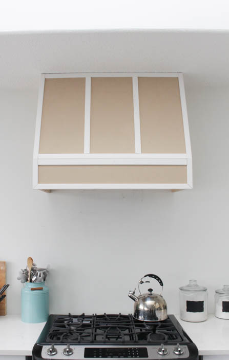 how to build a diy range hood fan for