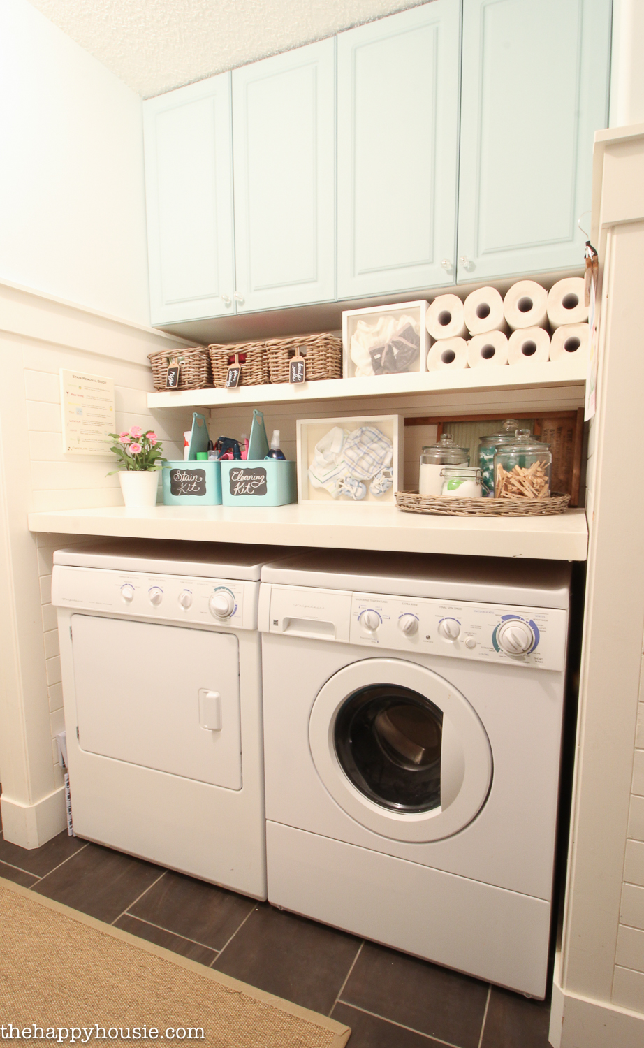 How to Completely Organize Your Laundry Room in Three Easy ... on Laundry Room Organization Ideas  id=32606