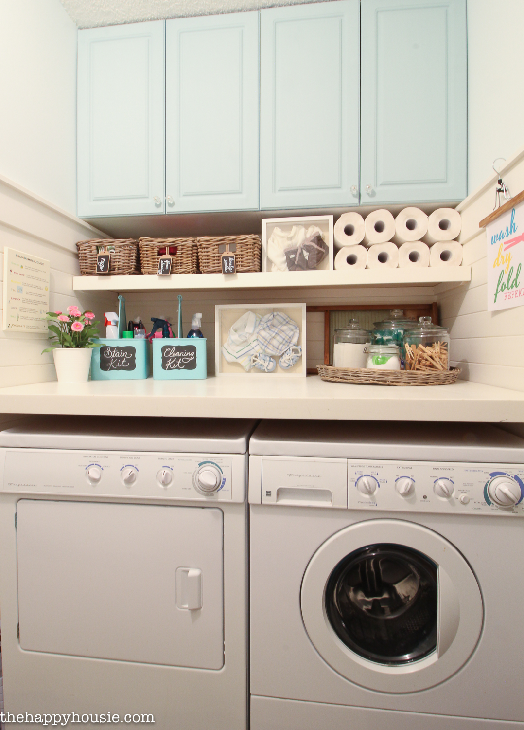 How to Completely Organize Your Laundry Room in Three Easy ... on Laundry Room Organization Ideas  id=83167