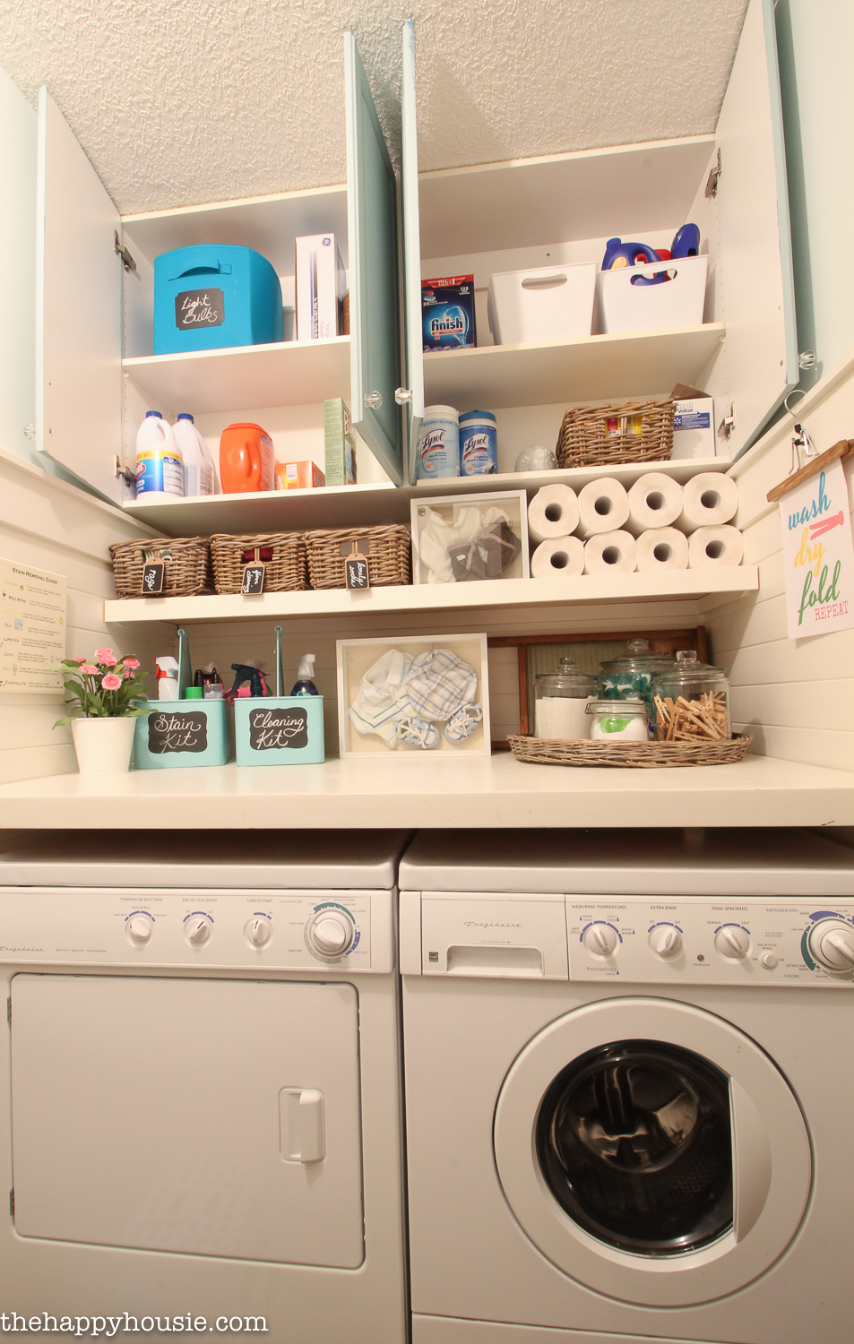 How to Completely Organize Your Laundry Room in Three Easy ... on Laundry Room Organization Ideas  id=35932