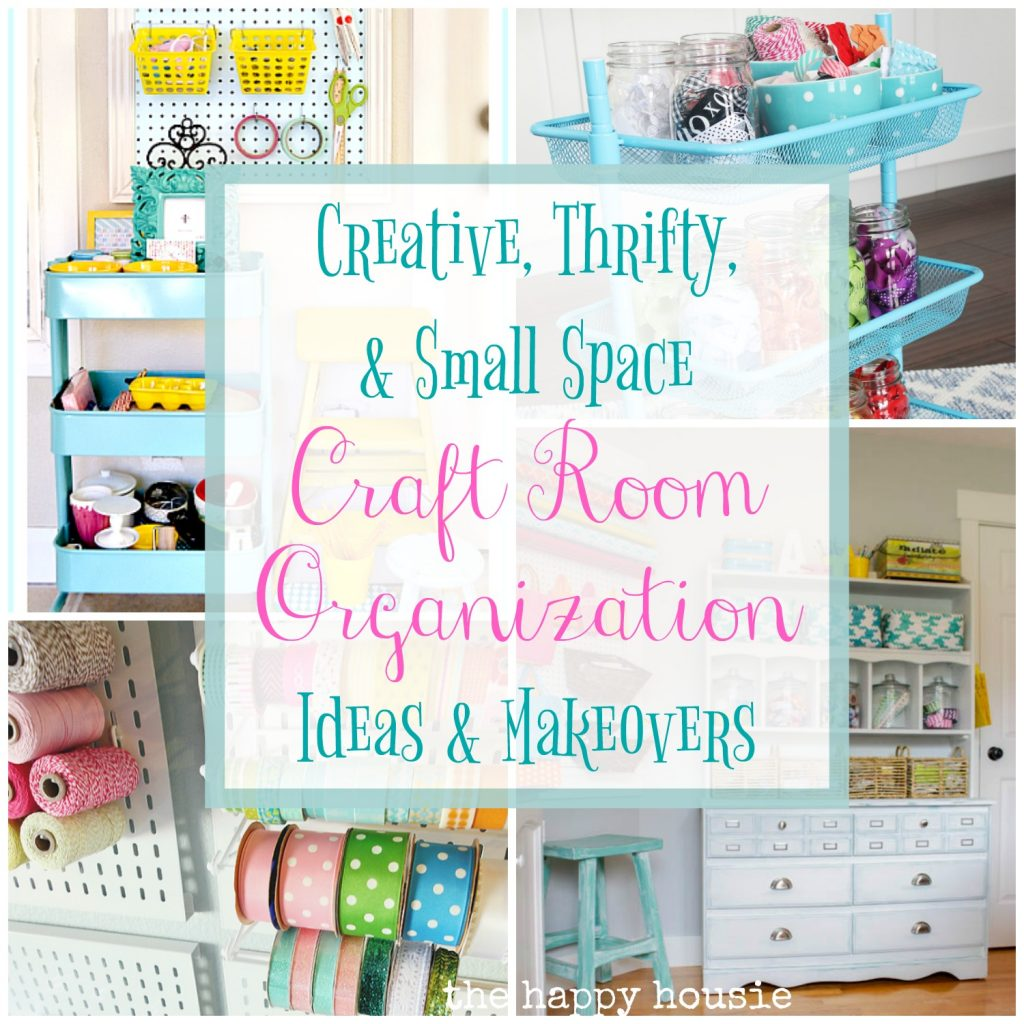 Creative Thrifty Amp Small Space Craft Room Organization