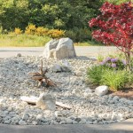 Landscaping With River Rock Dry River Rock Garden Ideas The Happy Housie
