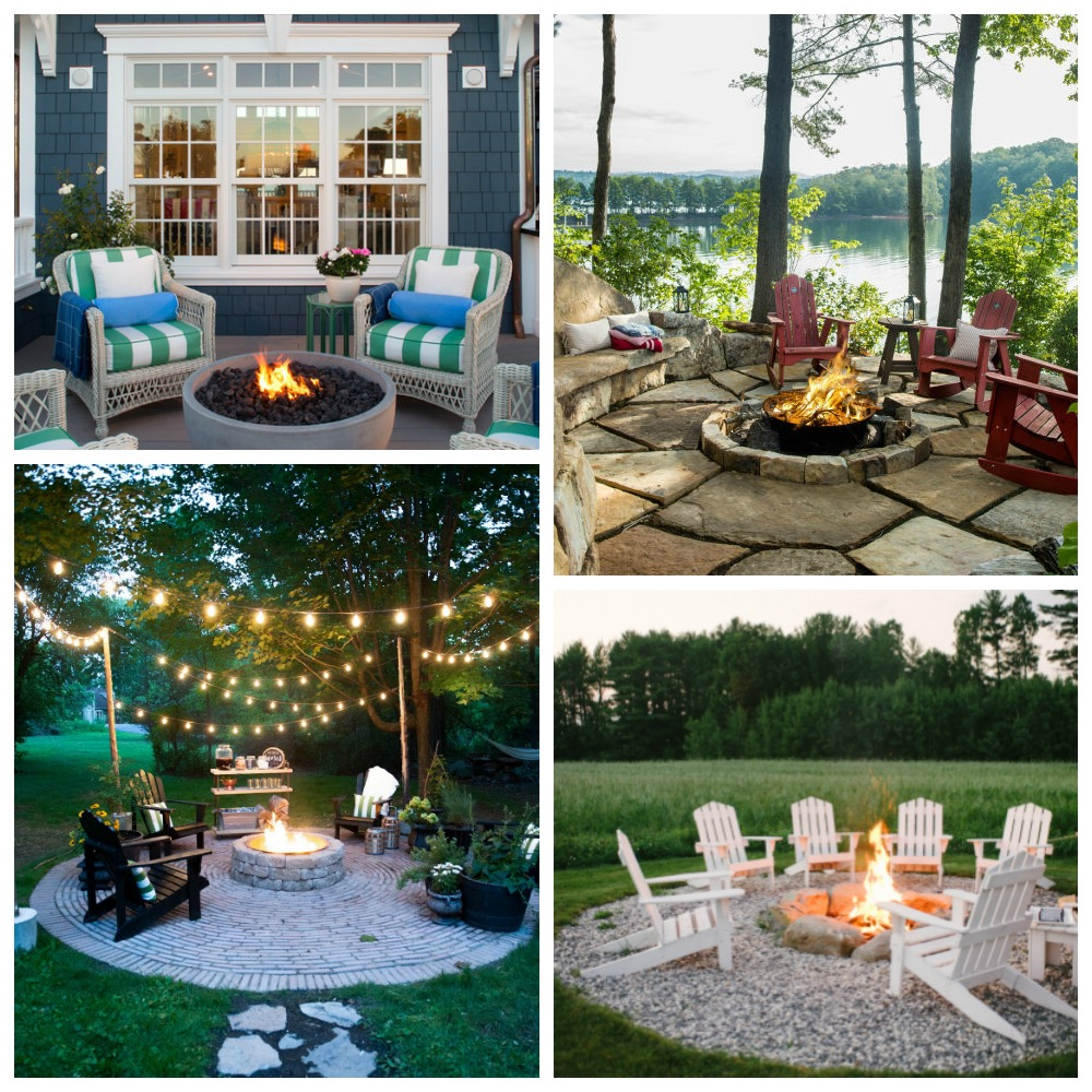 inspiring outdoor fire pit areas
