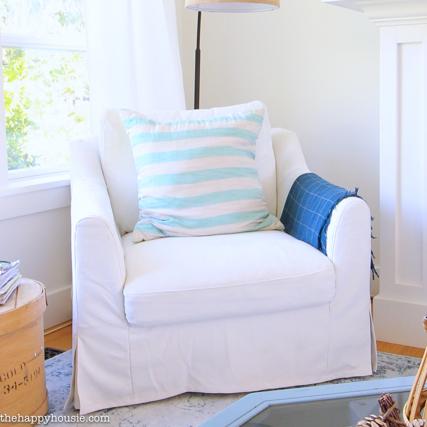 Heavy cotton farlov armchair replacement cover made compatible for ikea farlove. New Ikea Farlov Line Review   The Happy Housie