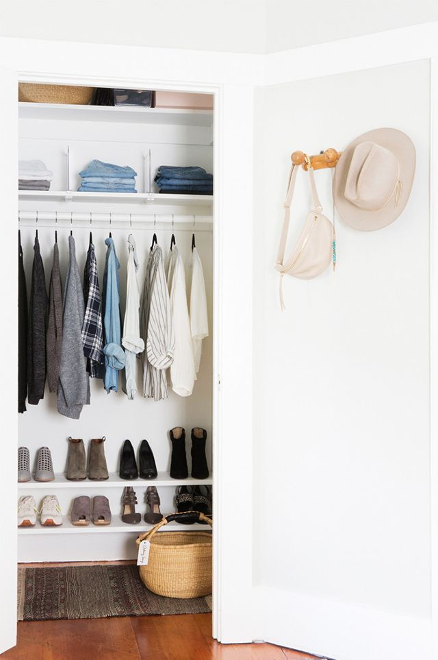 Small Reach In Closet Organization Ideas The Happy Housie