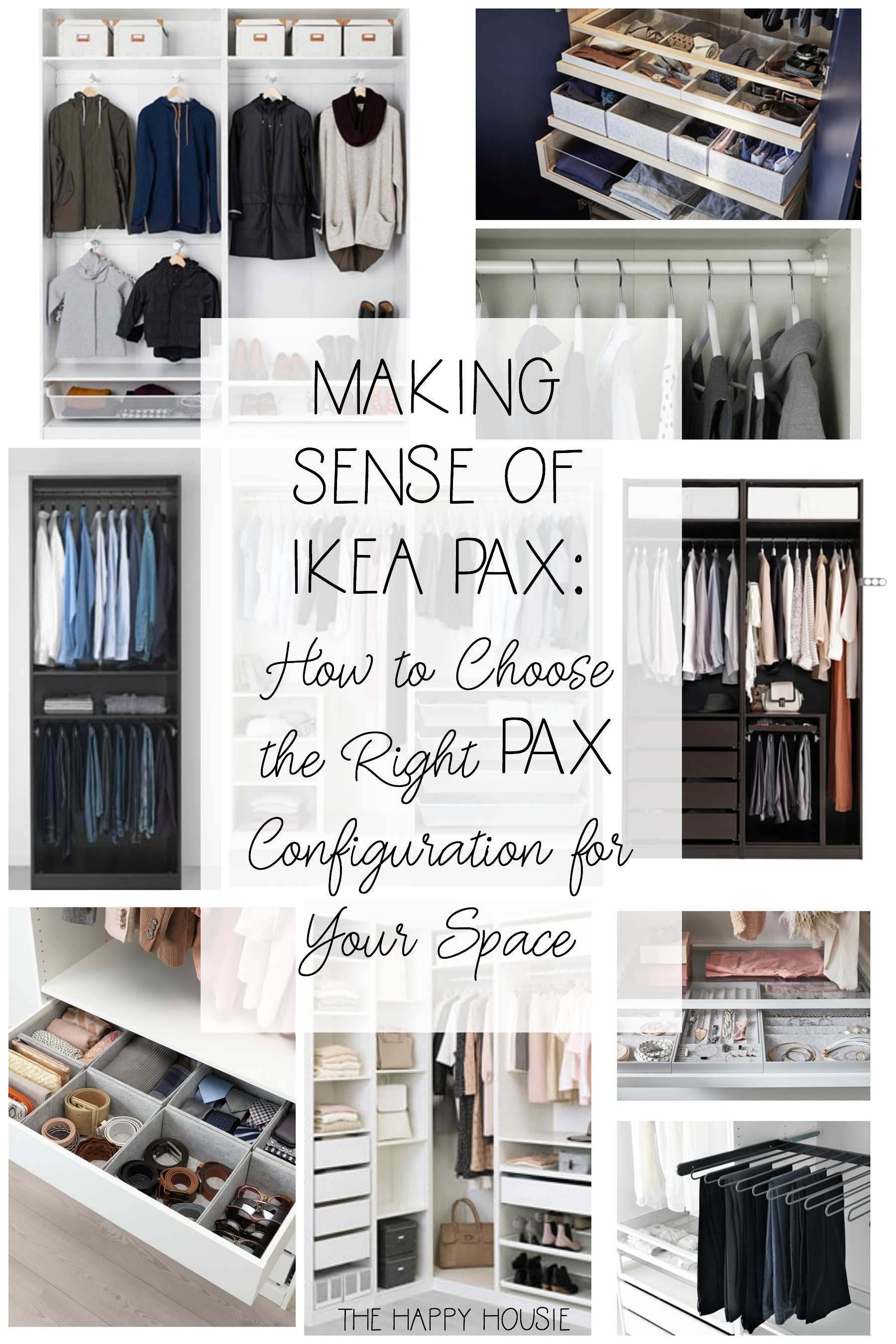 Making Sense Of Ikea Pax How To Choose The Right Pax Configuration For Your Space The Happy Housie