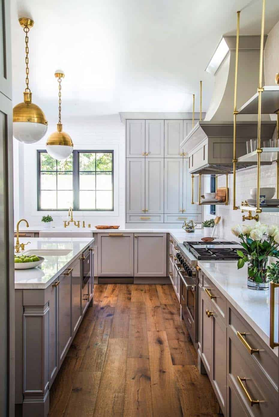 20 fabulous kitchens featuring grey