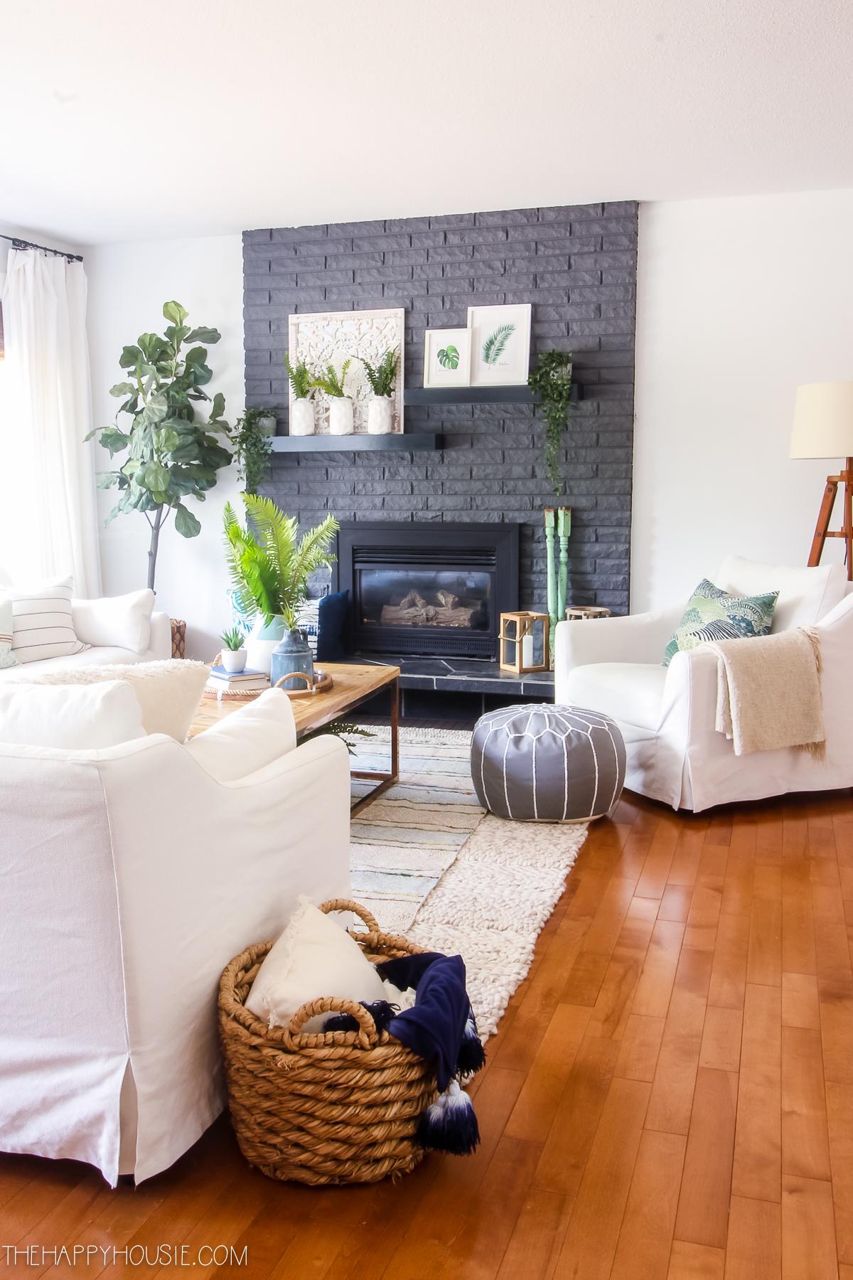 Modern Boho Farmhouse Style Simple Summer Home Tour | The ... on Modern Boho Decor  id=99905