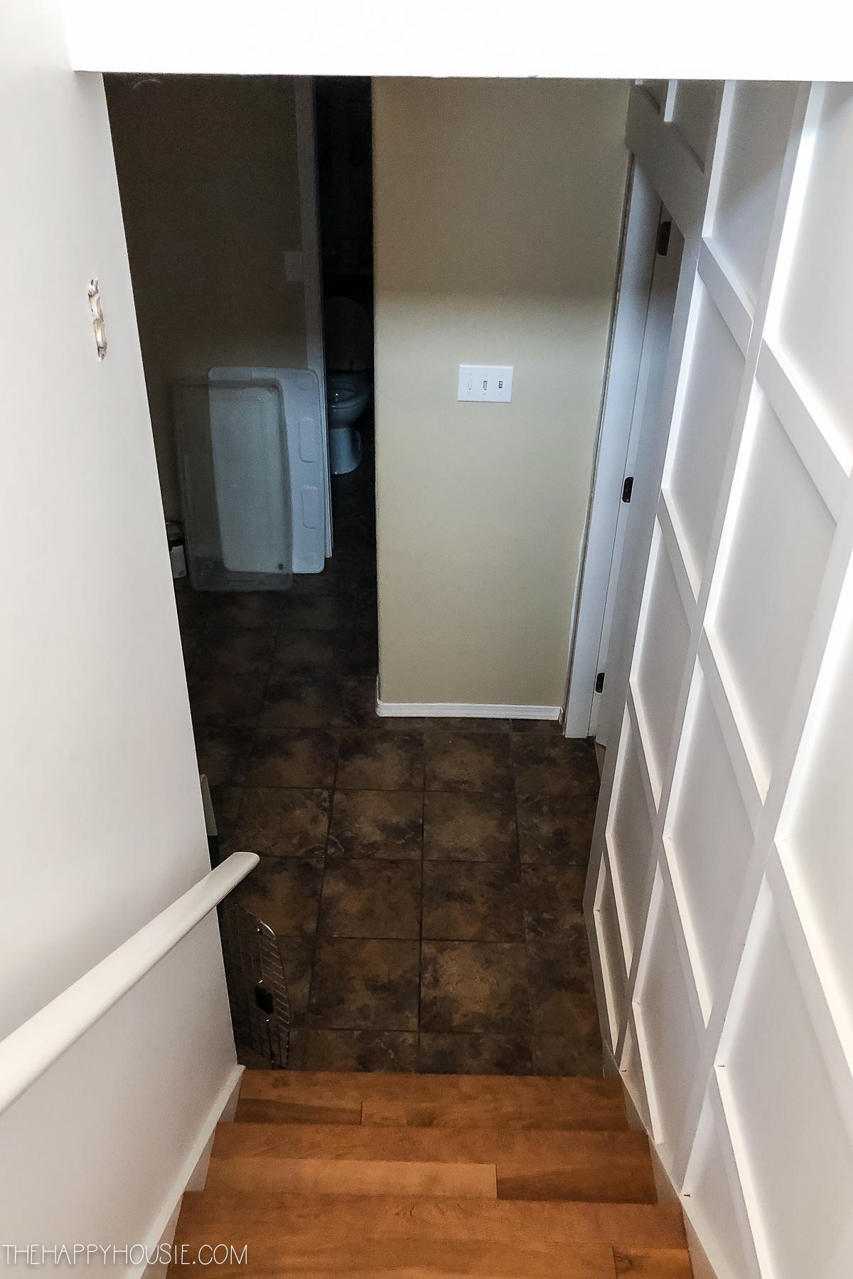 to install vinyl plank over tile floors
