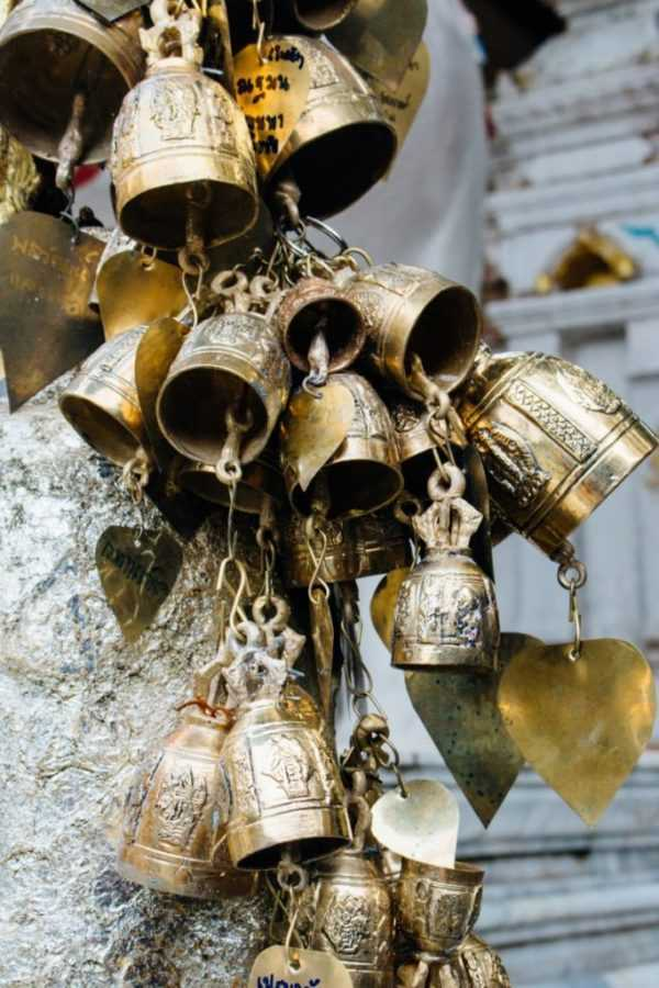 Bells in temple