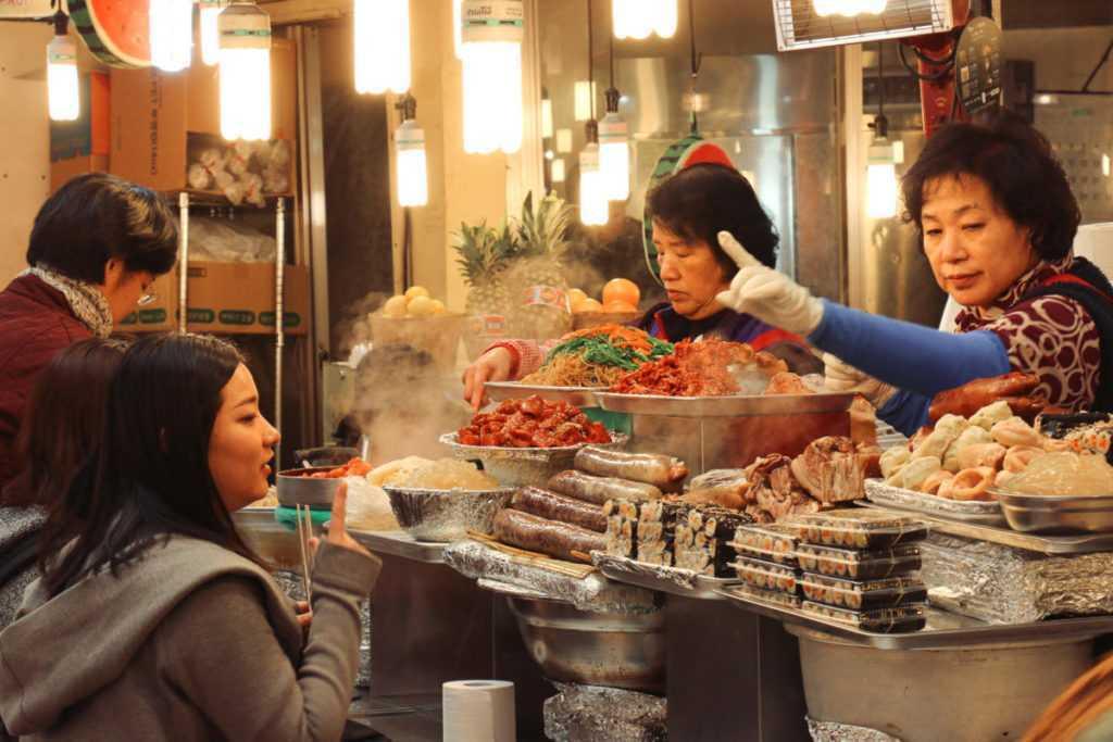 Gwangjang Markt Seoul Street Food
