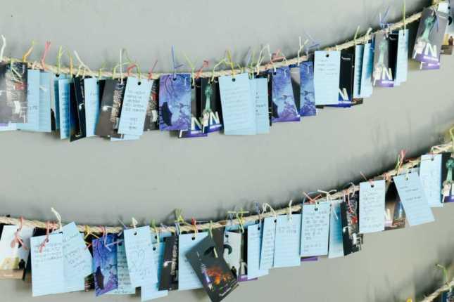 Love Cards am Namsan Tower, Seoul