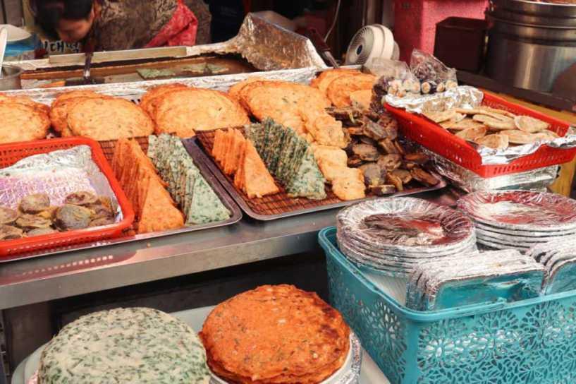 Seoul Sehenswürdigkeiten Street Food